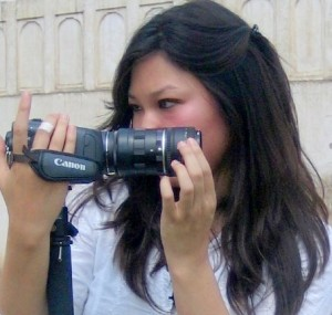 amy canonhv30 300x285 Interview with indie filmmaker Amy Do    Director of Rabbit Fever